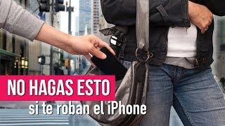 NO HAGAS ESTO SI TE ROBAN EL IPHONE | Ceci de Viaje