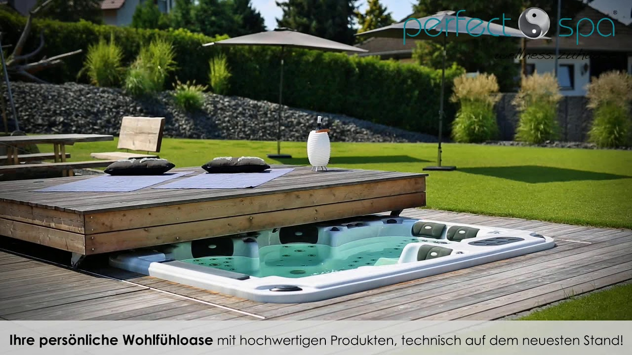 Outdoor Whirlpools   Perfect Spa