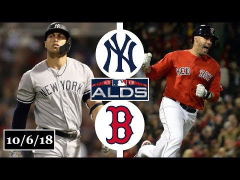 New York Yankees vs Boston Red Sox Highlights || ALDS Game 2 || October 6, 2018