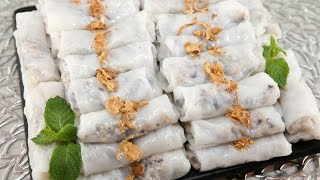 Savory Rolled Cakes (banh Cuon)