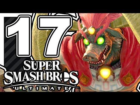 SUPER SMASH BROS ULTIMATE FR - ÉPISODE 17 - GANON ! thumbnail