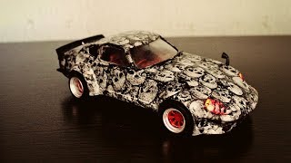 Дьявол на колесах Nissan Fairlady 240Z Сборка модели 1/24