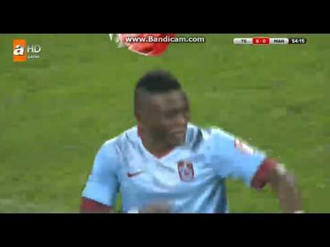 Trabzonspor 9-0 Manisaspor | Gol Waris | Ziraat Türkiye Kupası 25 Aralık 2014