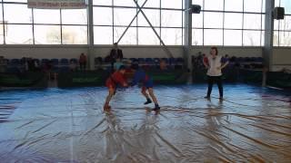 Рагулин Никита, соревнования по самбо в Илеке 2-я схватка