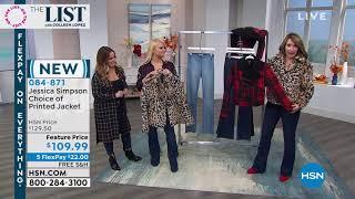 Jessica Simpson LeopardPrint Faux Fur Coat