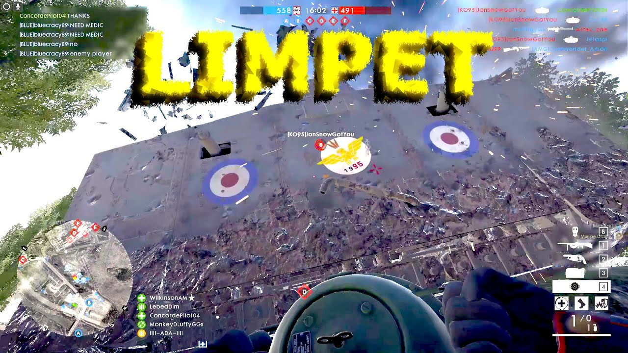 BF1 - We will miss the limpets