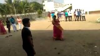 Amazing martial arts Skills of An Indian Lady..🙄