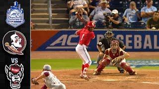 Florida State vs. NC State ACC Baseball Championship Highlights (2019)