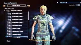 How to Customize a Female Character in Aliens Colonial Marines