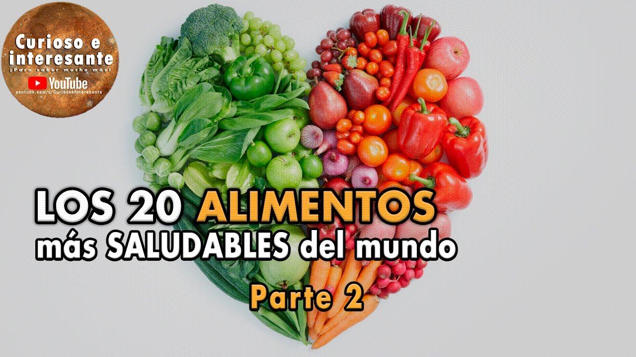 Los 20 alimentos m s saludables del mundo comida y nutrici n saludable parte 2 youtube - Alimentos con probioticos y prebioticos ...