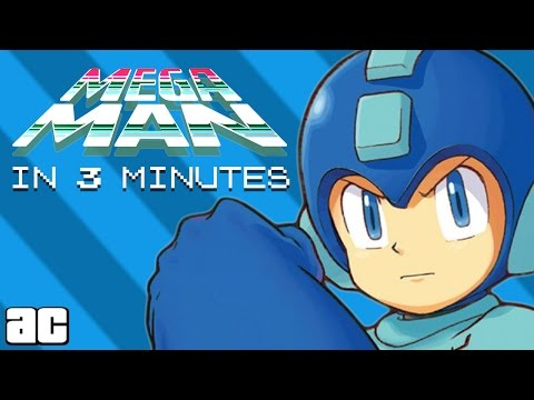 Megaman ENTIRE Story in 3 Minutes! (Megaman Animation)