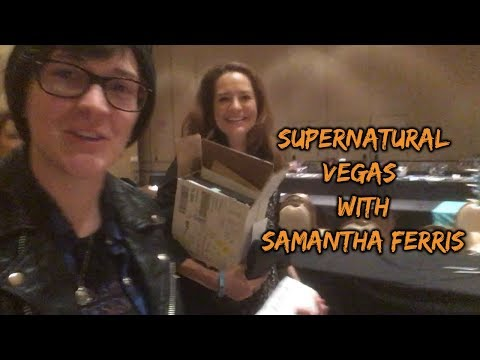 Supernatural Vegas 2018 With Samantha Ferris!
