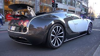 $3.5 Million Bugatti Veyron 16.4 Mansory Vivere in London!