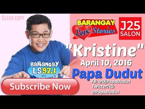 Barangay Love Stories April 10, 2016 Kristine