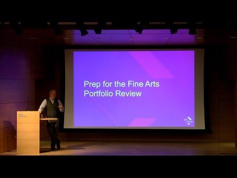Prep for the Rhode Island School of Design, Fine Arts Portfolio Review 2017