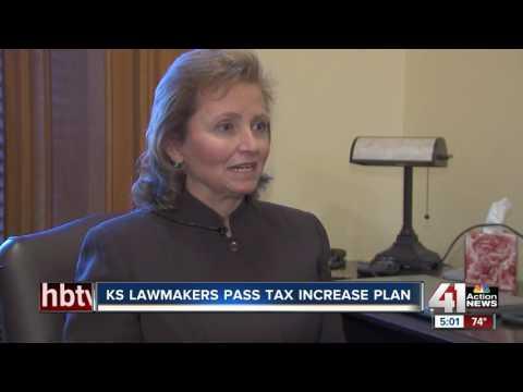 Kansas Legislature passes big income tax hike