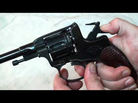 Revolver gas-seal system presentation of Nagant M1895
