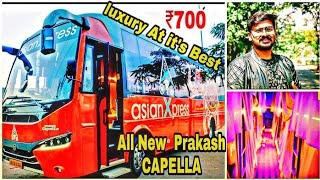 Download Video Asian Xpress Travels | All New Prakash Capella | Bus Review |Bangalore-Chennai | Tamil  Vlog MP3 3GP MP4