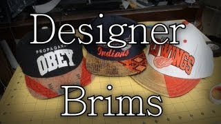 DIY: DesignerBRRRRIM / 2-Toned Brim Tutorial | Customize Yo Hat #5