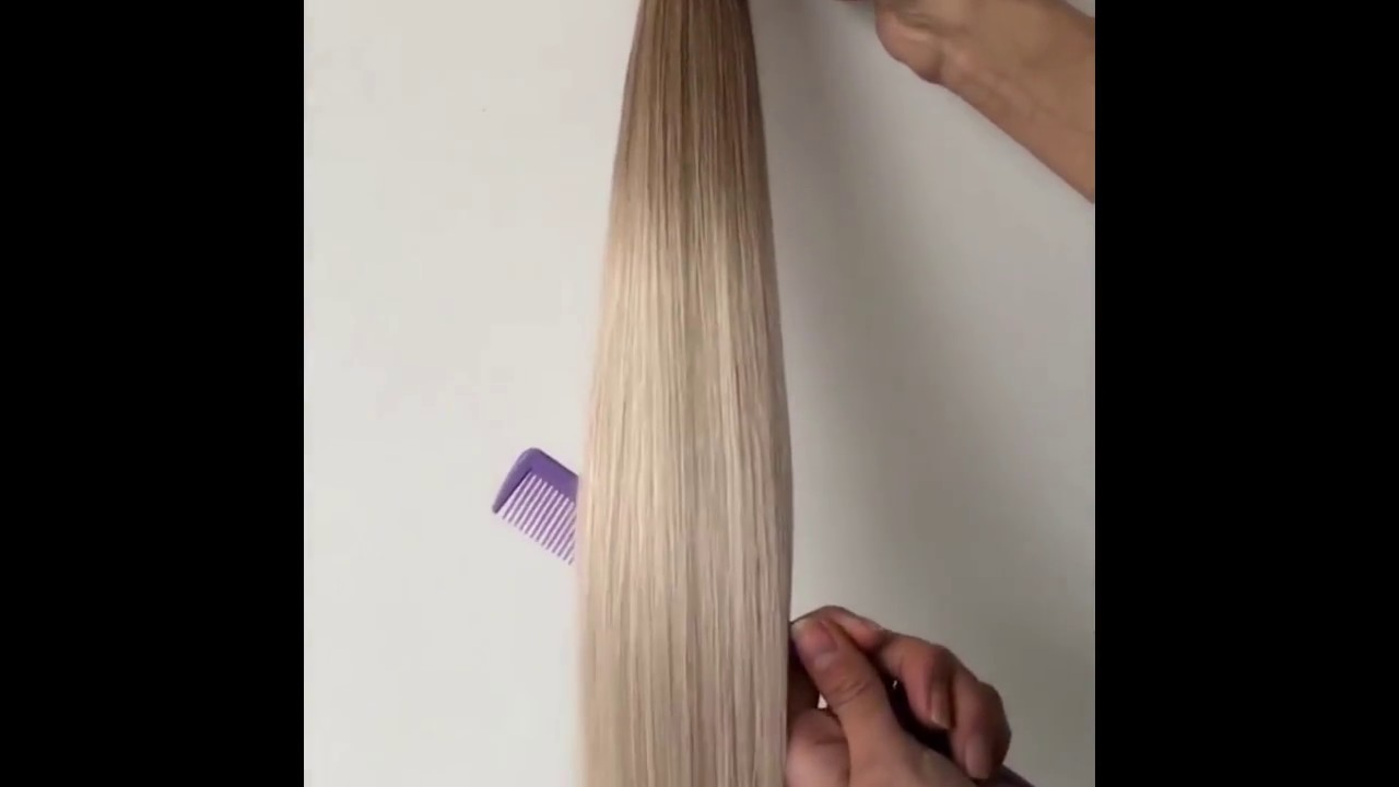 20 Inches Ombre Two Tone I Tip Hair Extension Virgin Hair Keratin