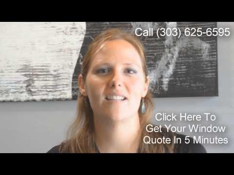 Window Replacement Louisville CO   (303) 569-6595   Vinyl Replacement Windows