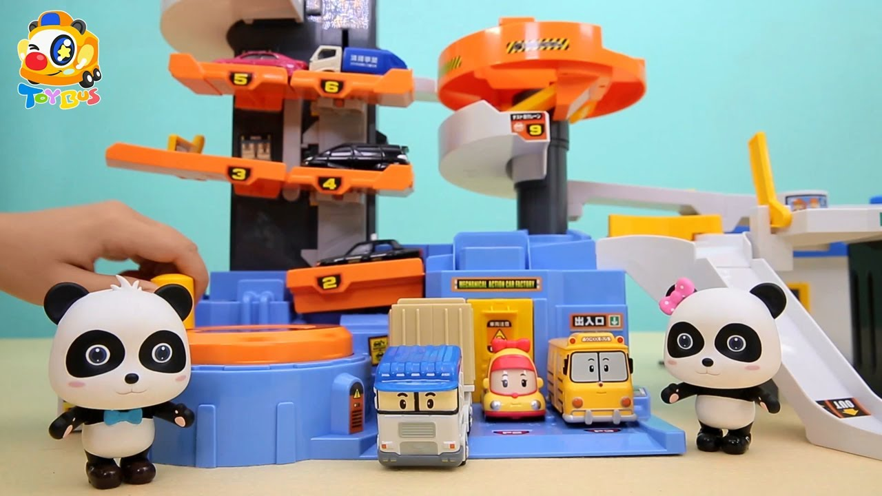 자동차 꾸미기 놀이 | 화물차 소방차 버스 구급차 | 베이비버스 장난감 친구들