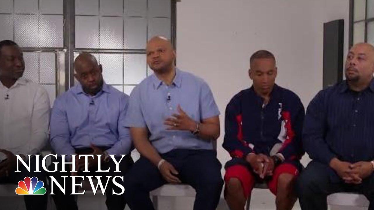 Crazy busty teacher sucked members of three boys