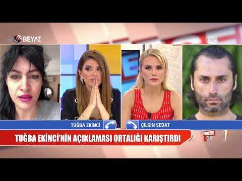 Çılgın Sedat, Tuğba Ekinci'ye canlı yayında sert tepki gösterdi!