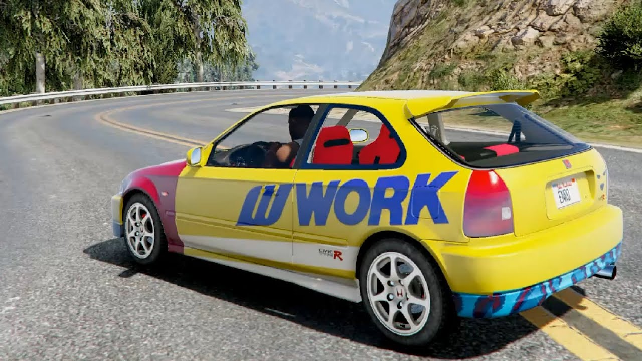 gta v need for speed 2015 livery for honda civic ek9. Black Bedroom Furniture Sets. Home Design Ideas