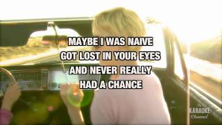 "White Horse in the Style of ""Taylor Swift"" karaoke video with lyrics (no lead vocal)"