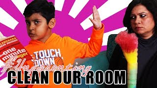 Clean your room and war begins | A Classic Mom