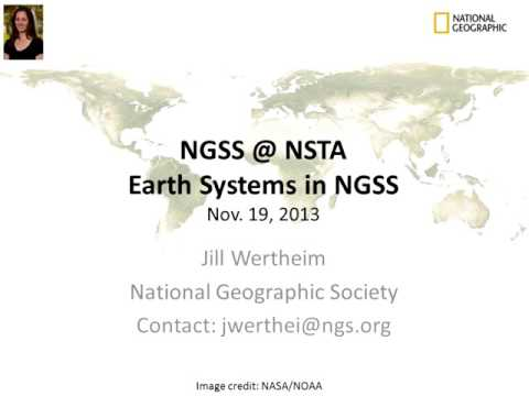 Next Generation Science Standards Core Ideas: Earth's Systems