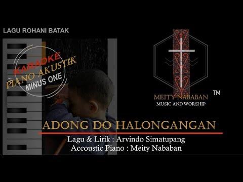 Adong Do Halongangan  (Piano/Minus One/Karaoke)