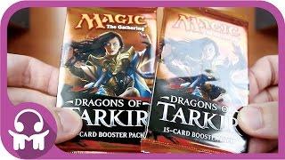 ASMR UNBOXING | Magic: The Gathering (Dragons of Tarkir)