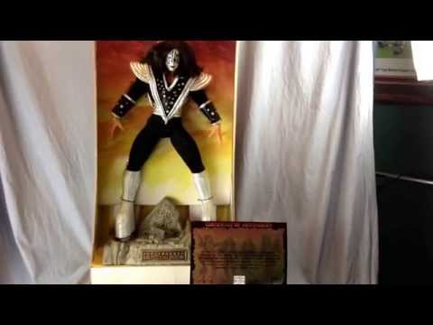 Ace Frehley 24 Art Asylum Kiss Doll Plays Shout It Out Loud