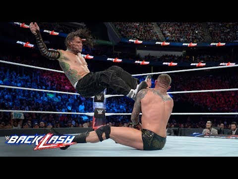 Jeff Hardy drops Randy Orton with a vicious flying kick: WWE Backlash 2018 (WWE Network Exclusive)