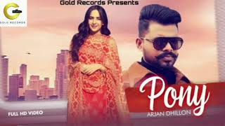 Pony (Arjan Dhillon) Mp3 Song Download