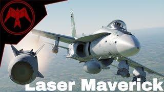 DCS F/A-18C Hornet AGM-65E Maverick LMAV Tutorial