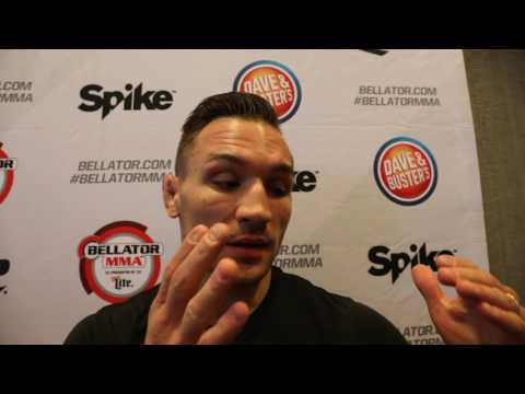 "Michael Chandler ""I will KO Benson Henderson then fight Josh Thomson"""