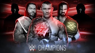 All Perfect Champions for WWE 2019🔥 | Randy Orton, Roman Reigns, Drew McIntyre, AJ Styles