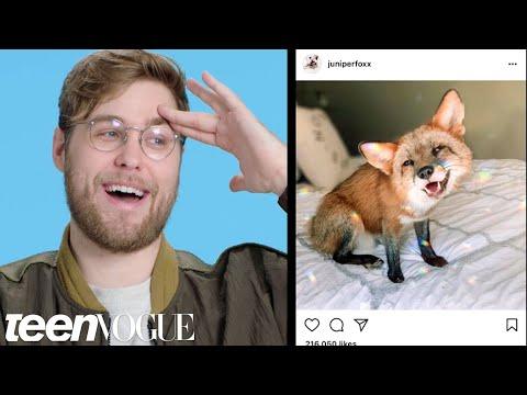 Garrett Watts Breaks Down His Favorite Instagram Accounts   Teen Vogue