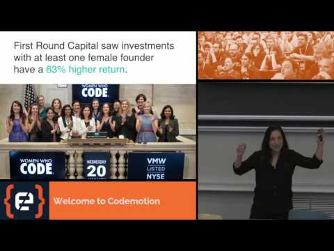 Keynote: Community Innovation - Alaina Percival - Codemotion Milan 2016