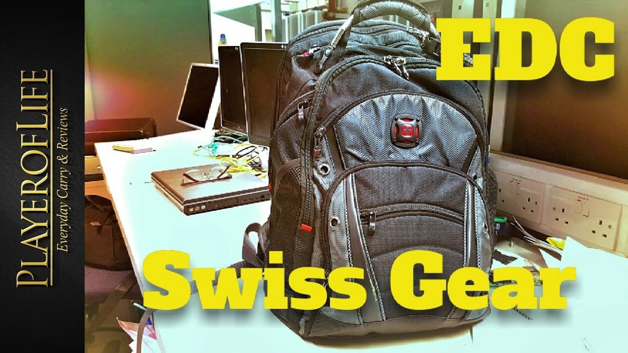 edc swissgear synergy backpack june 2016 youtube. Black Bedroom Furniture Sets. Home Design Ideas