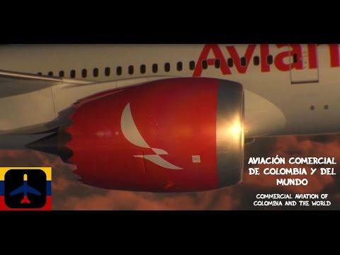 Presentación Oficial del Boeing 787-8 Dreamliner de Avianca