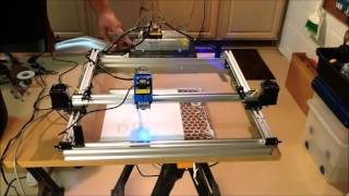 2 Watt Laser Cutter and Engraver Project Part 9 - Mounting the Hardware