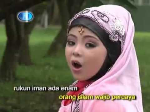 Rukun Iman - Ainun - Lagu Anak Muslim (Karaoke)