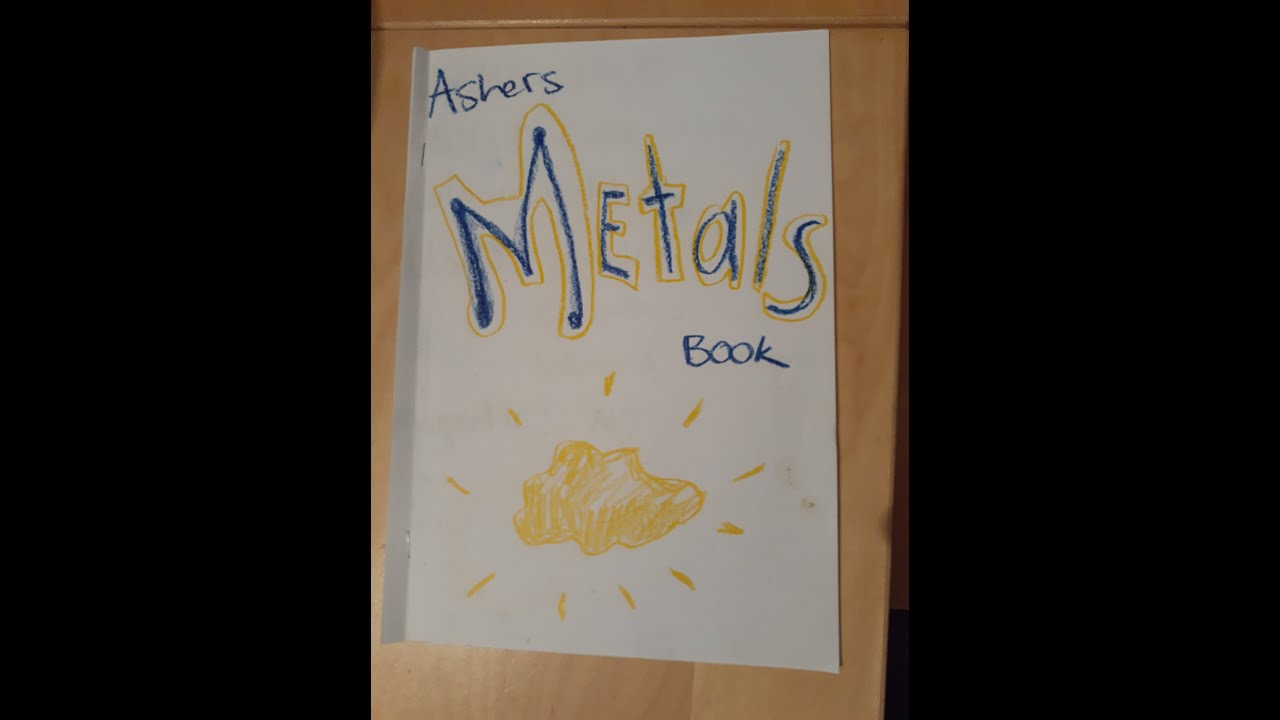 Creating Your Very Own Metals Book