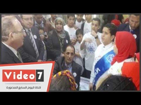 تلميذة تطالب محافظ بنى سويف بتوفير الإنترنت بالمدارس  - نشر قبل 14 ساعة