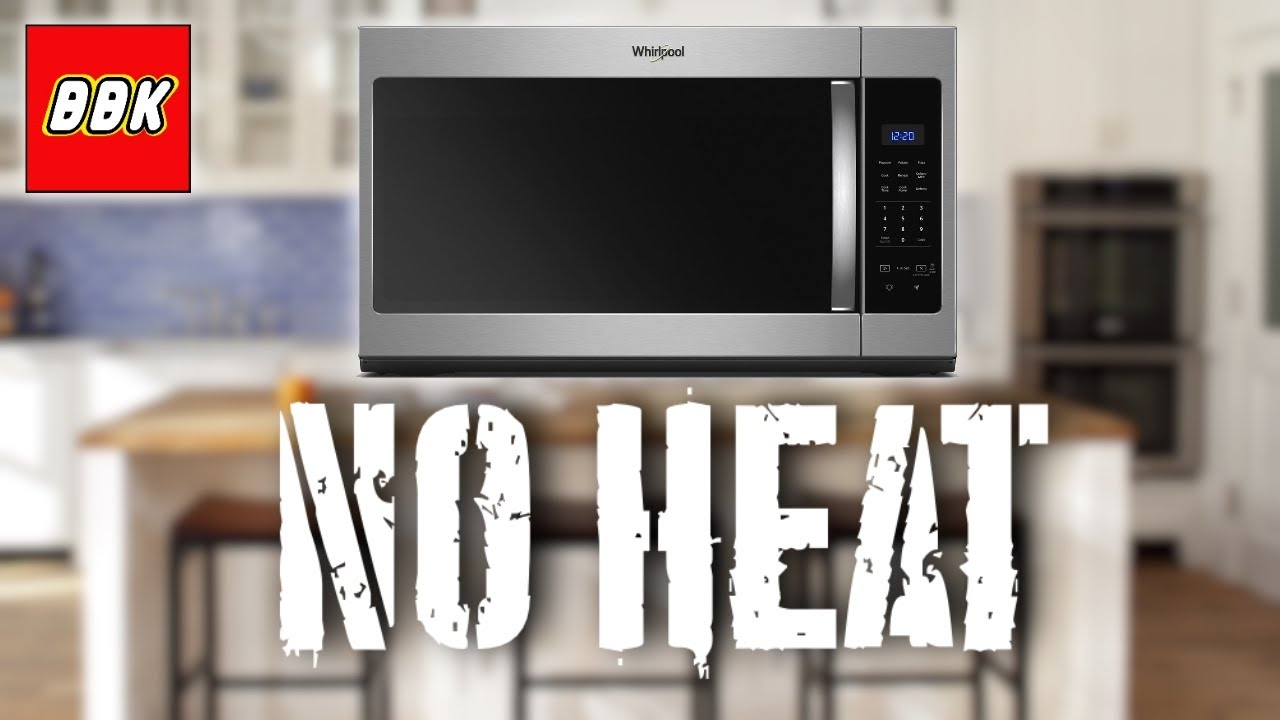 whirlpool microwave turns on but won t heat and loud noise how to replace magnetron and diode