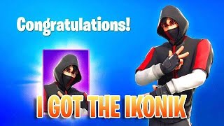 I REDEEMED THE IKONIK SKIN FORTNITE